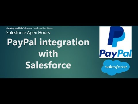 Paypal Integration With Salesforce | Paypal API | Paypal Invoice