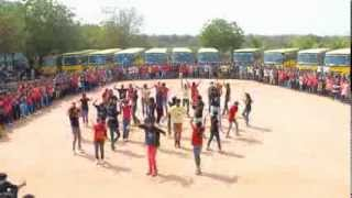 ACE Engineering College Flash mob on 11th March 2k14 (Anushthana2k14)