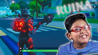 SKIN RUIN JOUANT FORTNITE SAISON 9 MAX GIO GAMEPLAYS