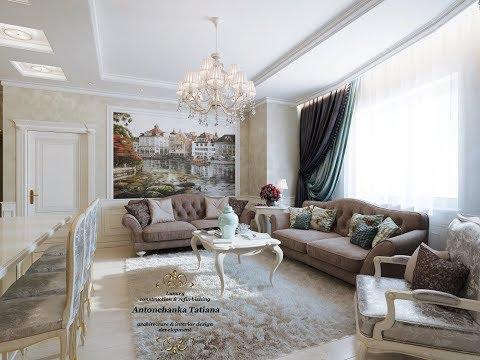 Роскошные дизайны интерьера - Luxury Interior Design Antonchanka Tatiana
