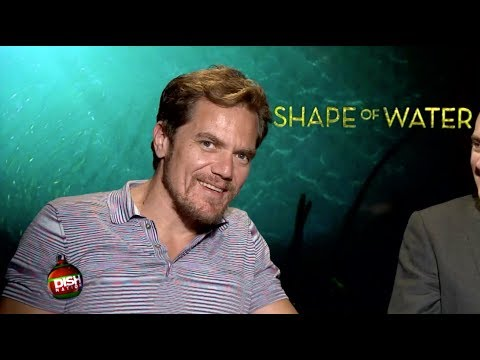 MICHAEL SHANNON S HIS CUDDLY SIDE DURING 'THE SHAPE OF WATER'