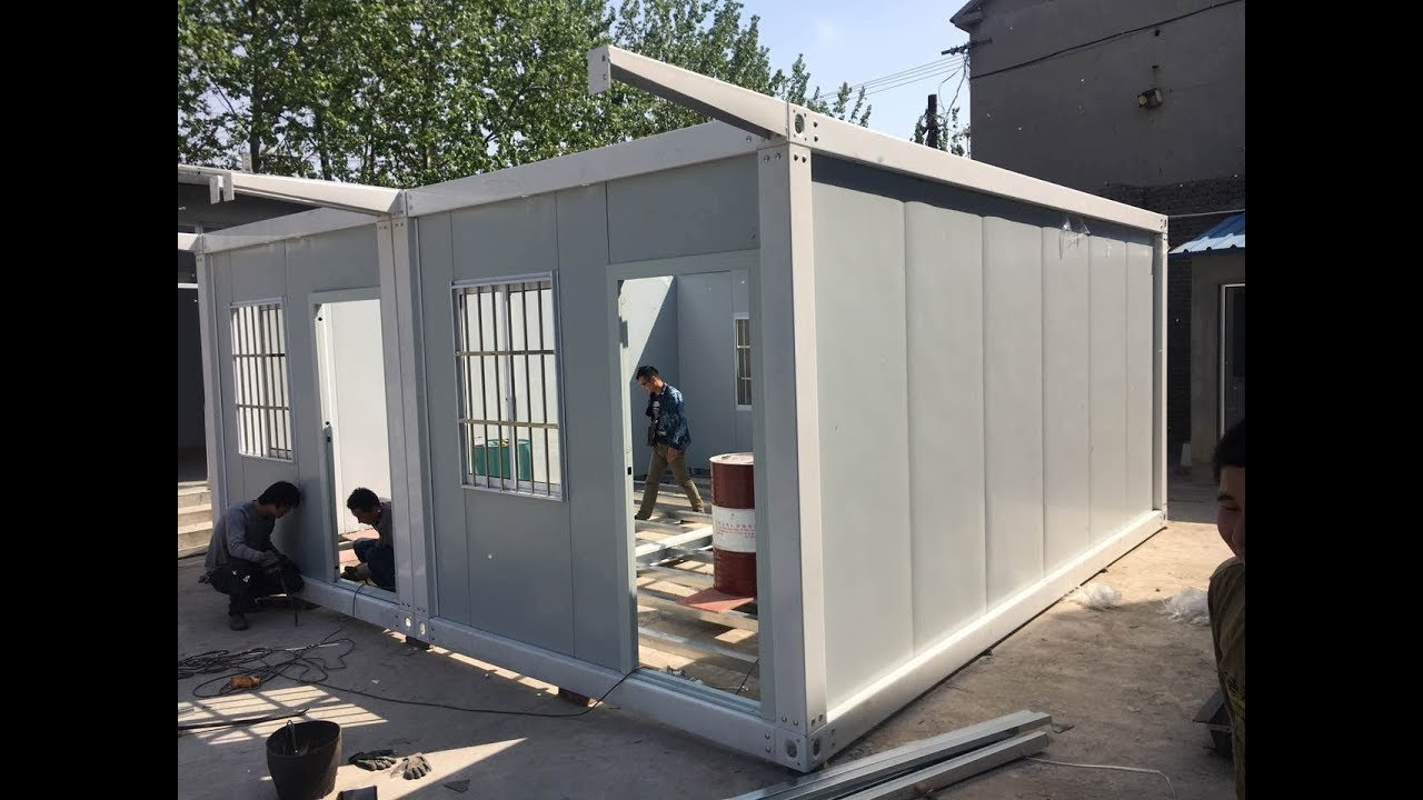 3m*5.95m mobile portable cabin homes affordable housing prefab ...