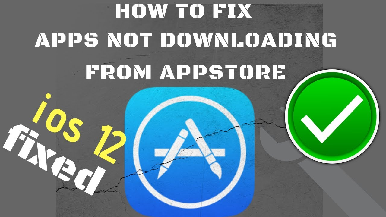 Download Iphone not downloding apps in ios 12. Fixed.