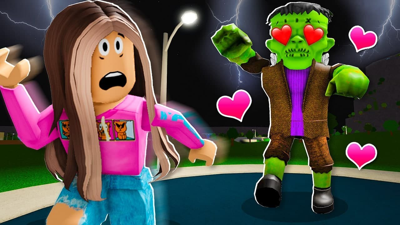 FRANKENSTEIN Has A CRUSH On ME! (Roblox)