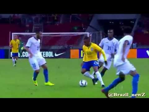 Robinho Great dribbling Skill vs Honduras (Friendly Match) 11-06-2015