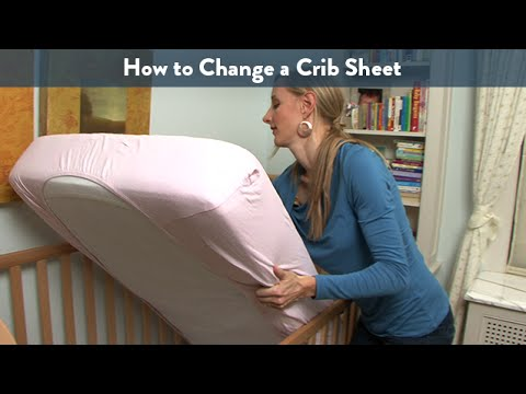 How to Change a Crib Sheet | CloudMom