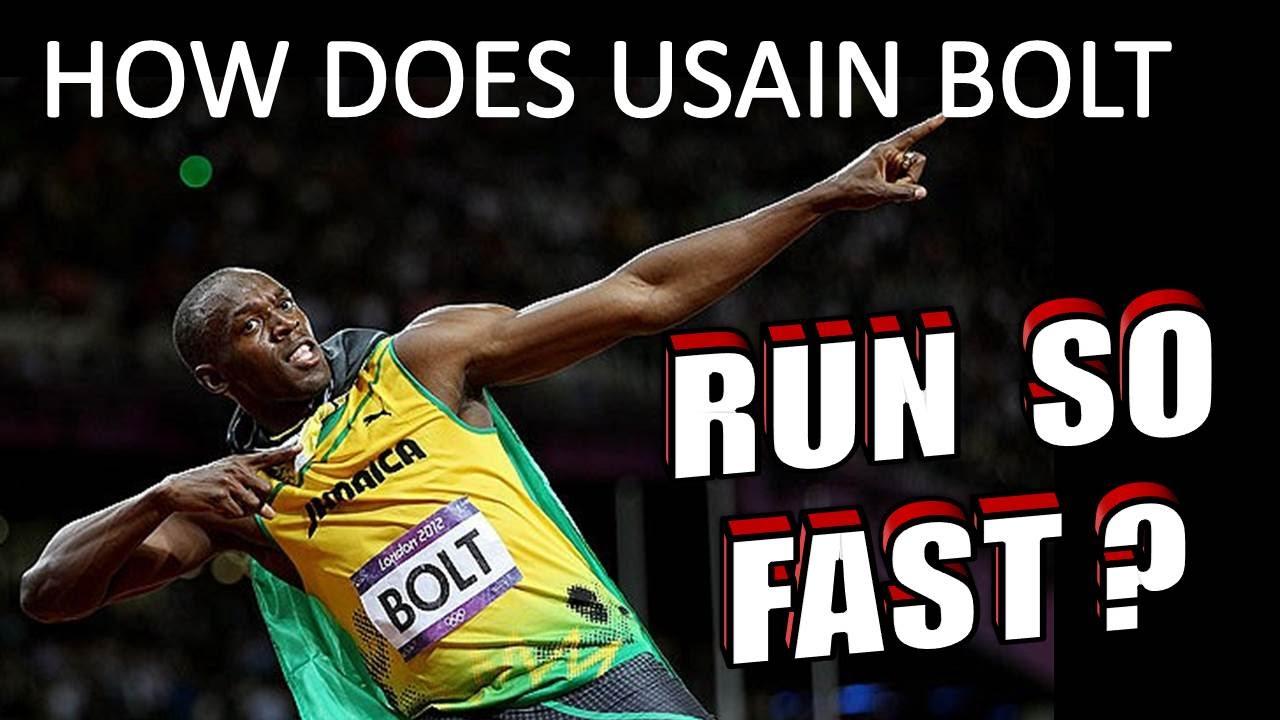What makes Usain Bolt so fast? - CBS News