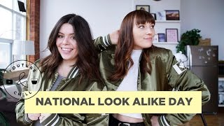 NATIONAL LOOK ALIKE DAY | YOUTUBE & CHILL