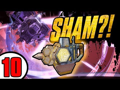 DOUBLE LEGENDARY SHIELD DROP?! - Road to Handsomeness - Day 10  [Borderlands - TPS]