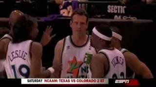 2009 All Star Celebrity Game - Funny Moments