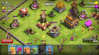 Clash of clans best attack of 2018 attack to Joy