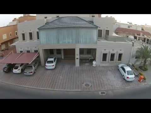 Our House in Sorra - Kuwait, filmed by me using my DJI Phantom 2 Vision + V 3.0