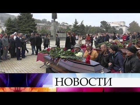 Тысячи крымчан пришли