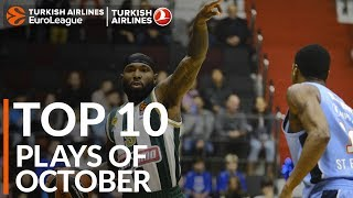 Turkish Airlines EuroLeague, Top 10 Plays of October!