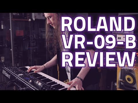 Roland VR-09-B V-Combo - The Best Performance Keyboard Ever?