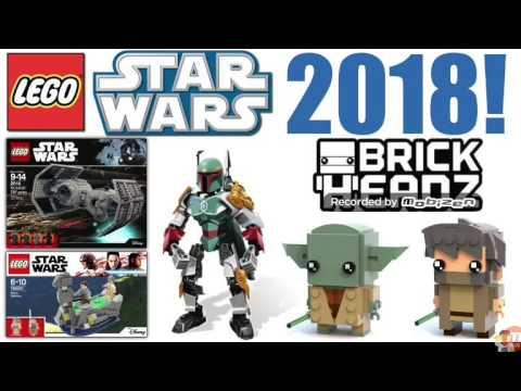 Лего звездные войны новые наборы 2018 года