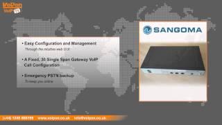 Sangoma Vega 100G Digital Gateway Video Review / Unboxing