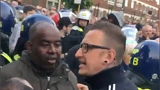 Spurs fans ABUSE Robbie from ArsenalFanTV!!