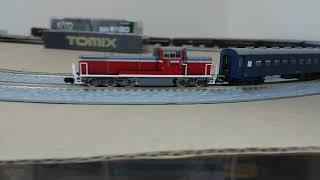 キハ82系とDE10牽引の旧型客車♪【Nゲージ鉄道模型走行風景】【鉄娘Tetsuko】122【202004】