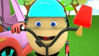 Surprise Eggs and Adventure in Colorful Amusement Park | Colors for Children, Toddlers Videos