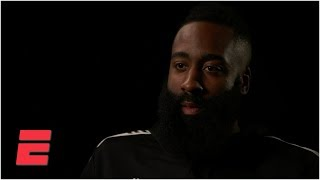 James Harden exclusive interview on scoring streak, critics and MVP race | NBA Interview