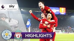 Liverpool zerlegt Leicester! | Leicester City - FC Liverpool 0:4 | Highlights - Premier League