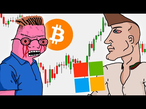 Stock traders VS Crypto traders at a family dinner
