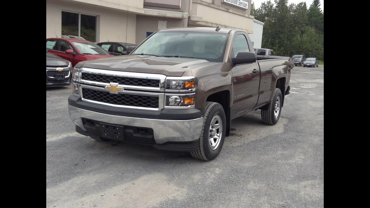 2014 Chevrolet Silverado 1500 Regular Cab Work Truck 4x4 Start Up ...