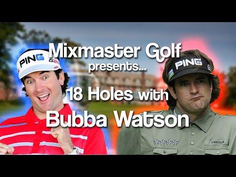 Bubba Watson Mirror Flip - Full Round Coverage - 2016 PGA - MMG