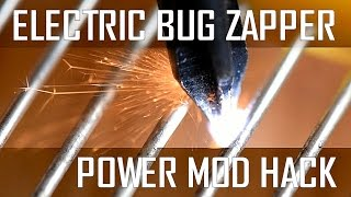 how to power mod your electric bug zapper