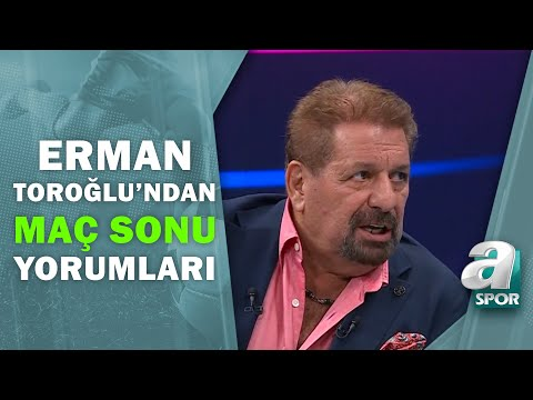 Fenerbahçe - Trabzonspor Erman Toroğlu Maç Öncesi Yorumları! / A Spor / Takım Oyunu / 25.10.2020