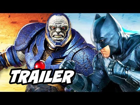 Justice League Trailer - Darkseid vs Gods Army Scene and Deathstroke Movie
