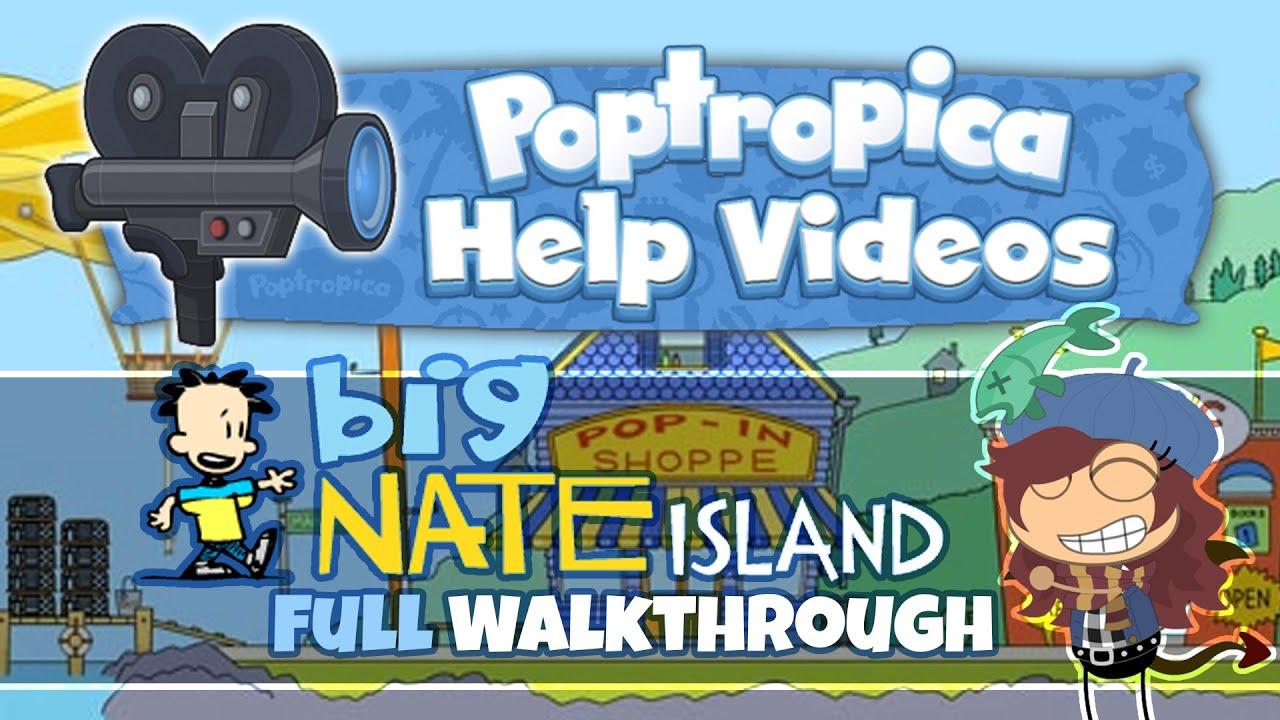 Poptropica Big Nate Island Full Walkthrough