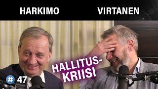 Hallituskriisi: Onko Todellista? Hjallis Harkimo & Matti Virtanen | #puheenaihe 47