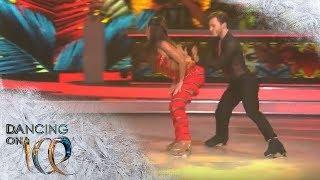Sarah Lombardi bringt mit feurigen Salsa-Beats alle zum Schwitzen | Finale | Dancing on Ice | SAT.1