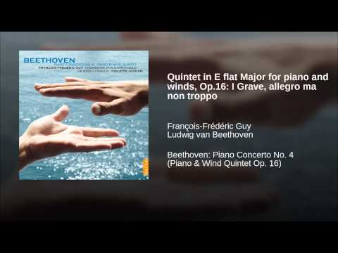 Quintet in E flat Major for piano and winds, Op.16: I