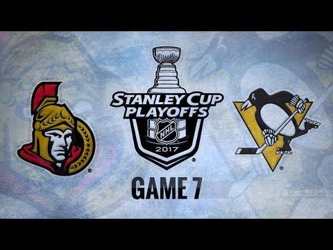 Ottawa Senators Vs. Pittsburgh Penguins Game 7 | NHL Game Recap | May 25, 2017 | HD