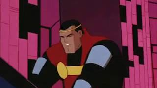 Superman: The Animated Series clips