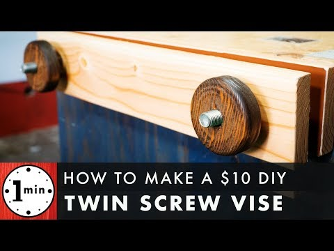 How to Make a Twin Screw Vise