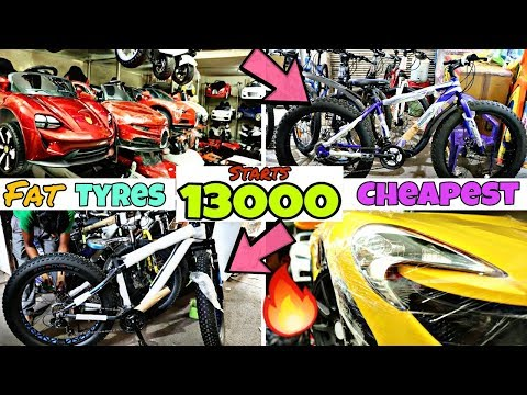 2018 Cheapest Cycle Fat Tyre Bike Market // Mountains Bike // BMX // Children Toys //