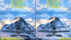 Battlefield 1 Nvidia Game Ready Driver 375.57 Vs 373.06 Frame Rate Comparison