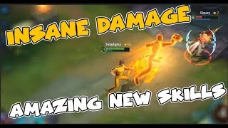 INSANE DAMAGE THE REAL BRUCE LEE  BEST CHAMPION EVER   GAMEPLAY Heroes Evolved