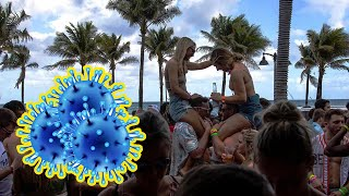 Despite Coronavirus Scare And Police Orders, Spring Breakers Party At Miami's South Beach | MEAWW