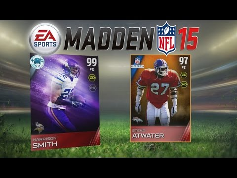 Madden 15 Ultimate Team - Position Heroes! Legend Steve Atwater! MUT 15