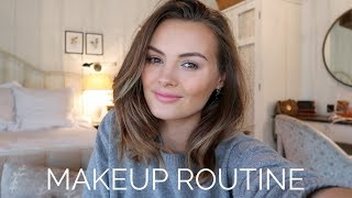 VLOG | My Full Makeup Routine & a Day in the Country