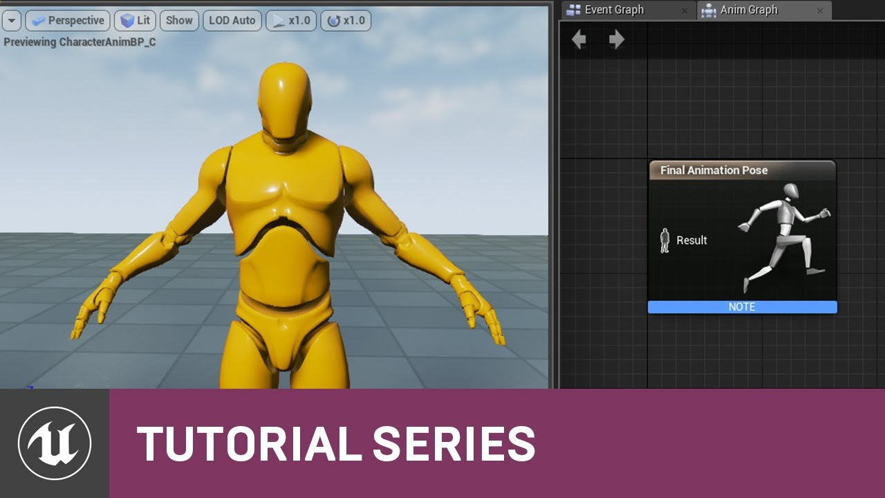 Bp 3rd person game intro to animation blueprints 08 v48 bp 3rd person game intro to animation blueprints 08 v48 tutorial series unreal engine malvernweather Images