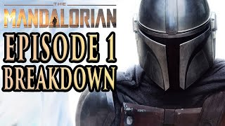 THE MANDALORIAN Episode 1 Breakdown, Theories, and Details You Missed! Season 1 Chapter 1
