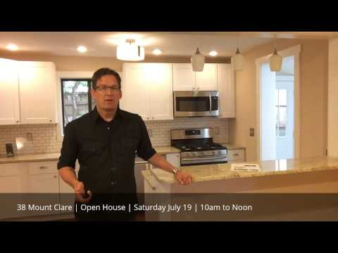 OPEN HOUSE | 38 Mount Clare | Saturday July 19 - 10am to Noon