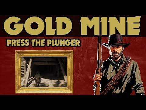 Red Dead Redemption 2 : Abandoned Gold Mine You Can Blow Up !!!