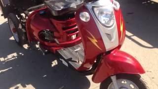Грузовой мотоцикл Spark SP110TR-4,  аналог Foton FT110-4. Обзор.(095 133 5656 096 163 5656 063 976 2001 http://sad-ok.com/index.php?route=product/product&path=99&product_id=76 http://sad-ok.com Бестселлер ..., 2016-05-22T03:48:34.000Z)